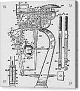 Matzeliger's Lasting Machine Acrylic Print