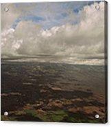 Maui Beneath The Clouds Acrylic Print