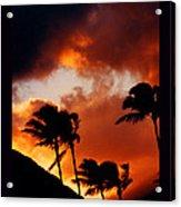 Maui Breeze Acrylic Print