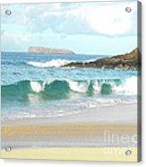 Maui Hawaii Beach Acrylic Print by Rebecca Margraf