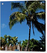 Maui Surfboard Fence - Oldest Section Acrylic Print