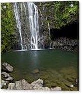 Mauis Wailua Falls Acrylic Print