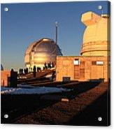 Mauna Kea Observatories Acrylic Print