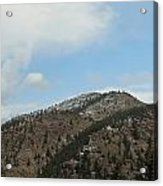 May In The Rockies Acrylic Print