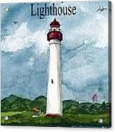 May The Magnificent Lighthouse  Acrylic Print