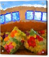 Maya Palms Acrylic Print