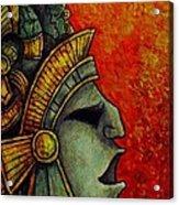 Mayan Mask II Acrylic Print