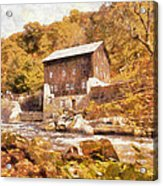 Mcconnell's Mill Acrylic Print