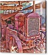 Mccormack Deering Tractor  Acrylic Print