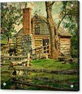 Mccormick Grist Mill Acrylic Print by Kathy Jennings