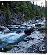 Mcdonald River Glacier National Park - 3 Acrylic Print