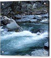 Mcdonald River Glacier National Park - 4 Acrylic Print