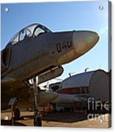 Mcdonnell Douglas Ta-4j Skyhawk Aircraft Fighter Plane . 7d11302 Acrylic Print by Wingsdomain Art and Photography