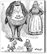 Mckinley Cartoon, 1900 Acrylic Print