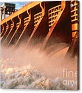 Mcnary Dam Acrylic Print by DOE/Science Source