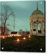 Md. Monument And Dunker Church 11 Acrylic Print