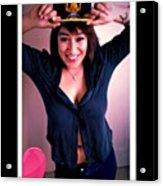 Me >_< Acrylic Print