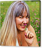 Meadow Fairy Acrylic Print