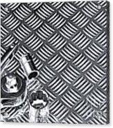 Mechanical Socket Background Acrylic Print