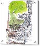 Medici Grotto Paris Acrylic Print