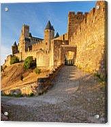 Medieval Carcassonne Acrylic Print