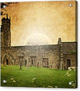 Medieval Church Acrylic Print