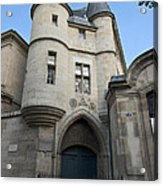 Medieval Tower Of Hotel De Soubise Acrylic Print