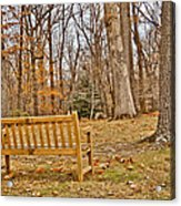 Meditation At Valley Forge Acrylic Print