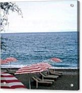 Mediterranean Beach Time  Acrylic Print