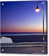 Mediterranean Sea At Motril Acrylic Print