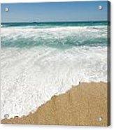 Mediterranean Shore Acrylic Print