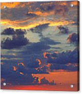 Mediterranean Sky Acrylic Print