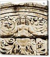 Medusa Of Ephesus Turkey Acrylic Print