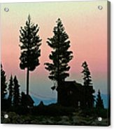 Meeks Bay Sunset. Acrylic Print