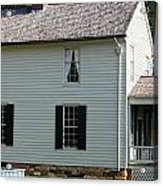 Meeks Store Appomattox Court House Virginia Acrylic Print