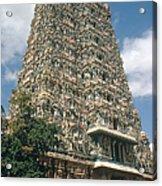 Meenakshi Temple Acrylic Print