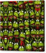Meet The Froggers Acrylic Print