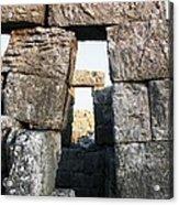 Megalithic Gateway Acrylic Print