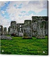 Megaliths Acrylic Print