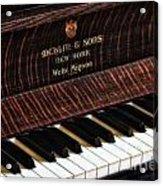 Mehlin And Sons Piano Acrylic Print