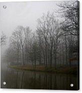 Melancholy Foggy Evening Acrylic Print