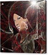Melanie Amaro Acrylic Print
