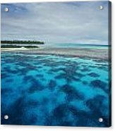 Meldives Paradise Acrylic Print