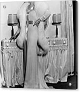 Melody In Spring, Ann Sothern, 1934 Acrylic Print by Everett