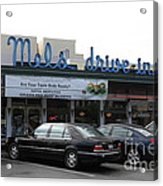 Mel's Drive-in Diner In San Francisco - 5d18012 Acrylic Print