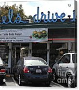 Mel's Drive-in Diner In San Francisco - 5d18014 Acrylic Print by Wingsdomain Art and Photography