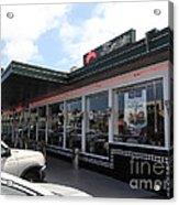 Mel's Drive-in Diner In San Francisco - 5d18041 Acrylic Print