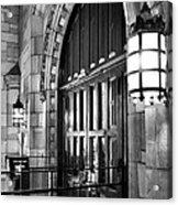 Memorial Hall Entrance Acrylic Print