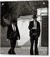 Men In Costume Acrylic Print