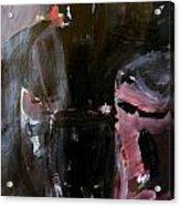 Menacing - He Waits For Dark For Her Acrylic Print